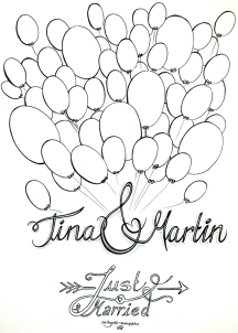 Namen + Ballons